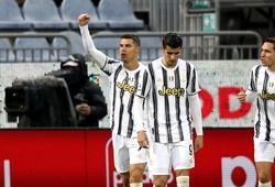 Ronaldo phấn khích gây tranh cãi trong trận Cagliari vs Juventus