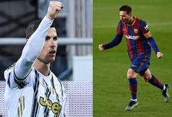 Messi còn kém Cristiano Ronaldo bao nhiêu bàn trong sự nghiệp?