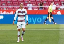 Ronaldo chạy nước rút kinh ngạc ở phút 87 với tuyển Bồ Đào Nha