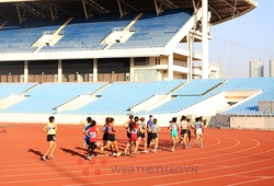 Đội tuyển điền kinh sẽ tập huấn tại khu liên hợp Mỹ Đình chuẩn bị cho SEA Games 31