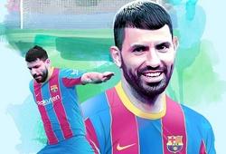 """Aguero có điều khoản giải phóng """"trăm triệu"""" euro với Barca"""