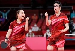 Đôi nam nữ Nhật phá thế thống trị của bóng bàn Trung Quốc tại Olympic