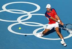 Kết quả tennis Olympic mới nhất:  Djokovic qua vòng 1 sau cữ dợt nhẹ