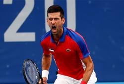 Kết quả tennis Olympic mới nhất: Djokovic gần hơn tới Golden Slam, Osaka thắng nhờ giao bóng