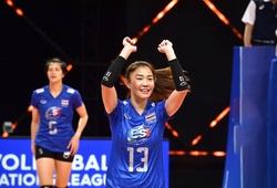 """Tiếp tục thua tại VNL 2021, Bóng chuyền nữ Thái Lan giậm chân nơi """"Top cuối"""""""