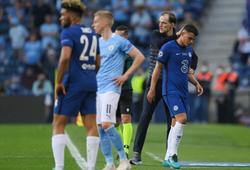 Thiago Silva đau khổ rời sân ở chung kết Chelsea vs Man City