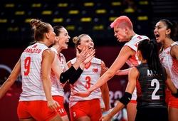"""Đương kim HCV bóng chuyền nữ Olympic Trung Quốc """"ngã ngựa"""" trước Thổ Nhĩ Kỳ"""