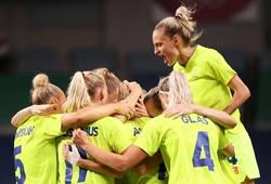 Nữ Thụy Điển lần thứ hai liên tiếp tranh huy chương bóng đá Olympic