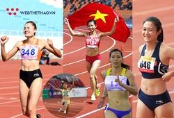 Top 5 nữ VĐV điền kinh Việt Nam nổi danh nhất Đông Nam Á