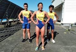Tuyển triathlon Philippines ra mắt trang phục thi đấu cho SEA Games 31
