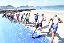 Cách chọn vị trí xuất phát cực đặc biệt của VĐV triathlon Olympic Tokyo