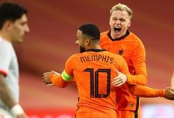 Tuyển Hà Lan công bố 34 cầu thủ trong đội hình sơ bộ dự Euro 2021
