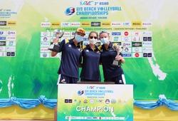 Tiếp nối đàn anh, Australia lên ngôi hậu tại giải bóng chuyền bãi biển U19 Châu Á