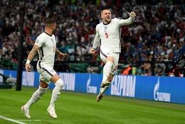 Luke Shaw đá EURO 2021 với tuyển Anh dù bị... gãy xương sườn