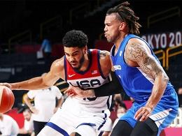 Tuyển Mỹ dội 20 quả 3 điểm, thẳng tiến vào vòng knock-out bóng rổ Olympic