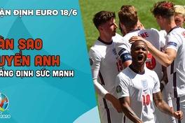 NHẬN ĐỊNH EURO 2021| Đội tuyển Anh tiếp tục khẳng định sức mạnh