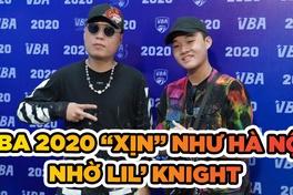 """VBA 2020 """"xịn"""" như Hà Nội với sự xuất hiện của Lil' Knight"""