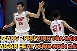 Juzang - Phú Vinh tỏa sáng, Saigon Heat xây chắc ngôi đầu