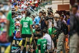 Cận cảnh chấn thương của Trần Thị Thanh Thúy trong ngày VTV Bình Điền vô địch Cúp Hùng Vương 2021
