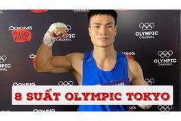 8 suất dự Olympic Tokyo của thể thao Việt Nam