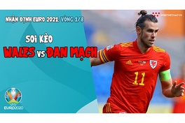 Nhận định EURO 2021| Vòng 1/8: Soi kèo Wales vs Đan Mạch | Bóng đá