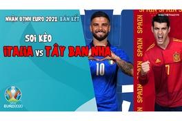 Nhận định EURO 2021 | Vòng bán kết:  Soi kèo Italia vs Tây Ban Nha