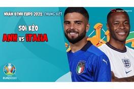 Nhận định EURO 2021   Trận chung kết: Soi kèo Anh vs Italia