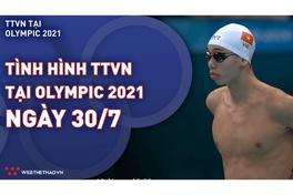 Nhật ký đoàn Thể thao Việt Nam tại Olympic Tokyo ngày 30/7