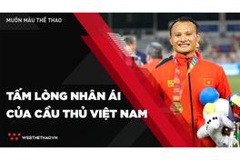 Những tấm lòng nhân ái của cầu thủ Việt Nam giữa mùa dịch COVID-19