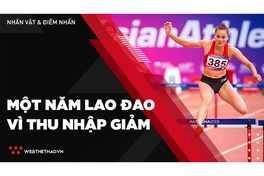 Làng thể thao Việt thêm một năm lao đao vì thu nhập sút giảm