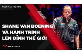 Cơ thủ bi-a khiếm thính Shane Van Boening và hành trình lên đỉnh thế giới