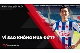 Vì sao các đội bóng nước ngoài không mua đứt cầu thủ Việt Nam?