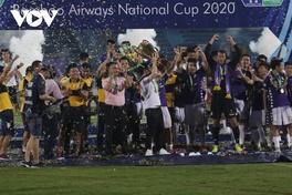 Quang Hải tỏa sáng giúp CLB Hà Nội đăng quang Cúp quốc gia... hướng tới ngôi vương tại V.League