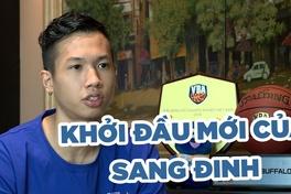 Sang Đinh - Khởi đầu mới tại Hanoi Buffaloes