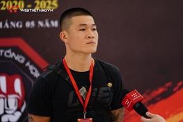 'Quyền vương' Trương Đình Hoàng chia vui cùng MMA Việt