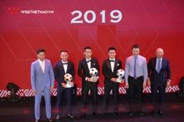 Đỗ Hùng Dũng đoạt Quả bóng Vàng Việt Nam 2019