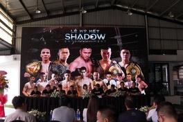 """Ra mắt Shadow Entertainment - """"cái bóng"""" sẽ đưa võ thuật Việt Nam bay cao"""