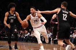 Video Philadelphia 76ers 122-100 Brooklyn Nets (NBA ngày 24/4)