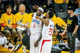 Bất chấp Kevin Durant tỏa sáng, Lou Williams buộc Warriors phải chiến đến Game 6