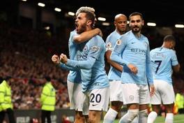 Video Man Utd 0-2 Man City (Vòng 31 Ngoại hạng Anh)