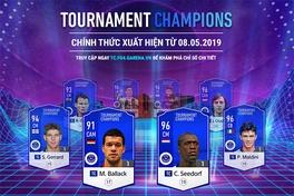 Fifa Online 4 cập nhật thẻ mùa giải Tournament Champions, ra mắt nhiều huyền thoại