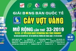 Lịch thi đấu bán kết, chung kết ngày 5/7 Giải bóng bàn Quốc tế Cây vợt vàng 2019