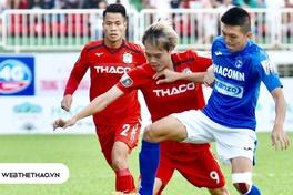 Đối đầu Than Quảng Ninh vs HAGL (Vòng 15 V.League 2019)