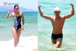Hoa hậu Costa Rica và dàn trai elite 6 múi thử độ khó đường bơi Challenge Vietnam 2019