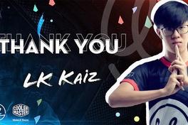 Kaiz rời Lowkey Esports ngay trước CKTG 2019