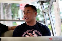 Trò chuyện cùng võ sĩ Cung Lê trong lần thứ 2 đến Hà Nội