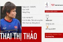 Thái Thị Thảo – Niềm tin nơi tuyến giữa của ĐT nữ Việt Nam