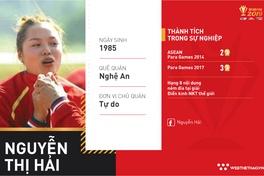 Nguyễn Thị Hải: Người phụ nữ tật nguyền phá kỷ lục thế giới