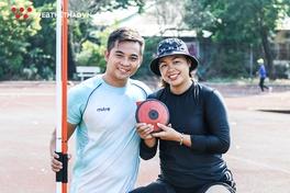 Câu chuyện tình yêu đặc biệt của cặp vợ chồng VĐV khuyết tật thắp sáng Cúp Chiến Thắng 2019