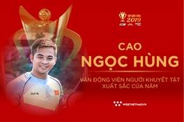Cao Ngọc Hùng: VĐV khuyết tật của năm Cúp Chiến thắng 2019